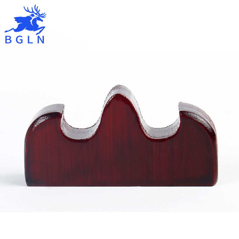 Bgln 1Piece Solid Wood Penholder For Chinese Traditional Brush Wood Calligraphy Brush Holder Art Supplies BG036