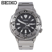 SEIKO Watch Fashion Professional Diving Watch Stainless Steel New Canned Water Ghost Male Watch SRP637K1