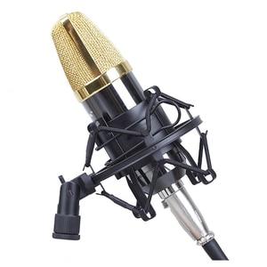 Image 4 - מיקרופון הלם הר 50MM עבור 48MM 54MM קוטר הקבל מיקרופון שחור