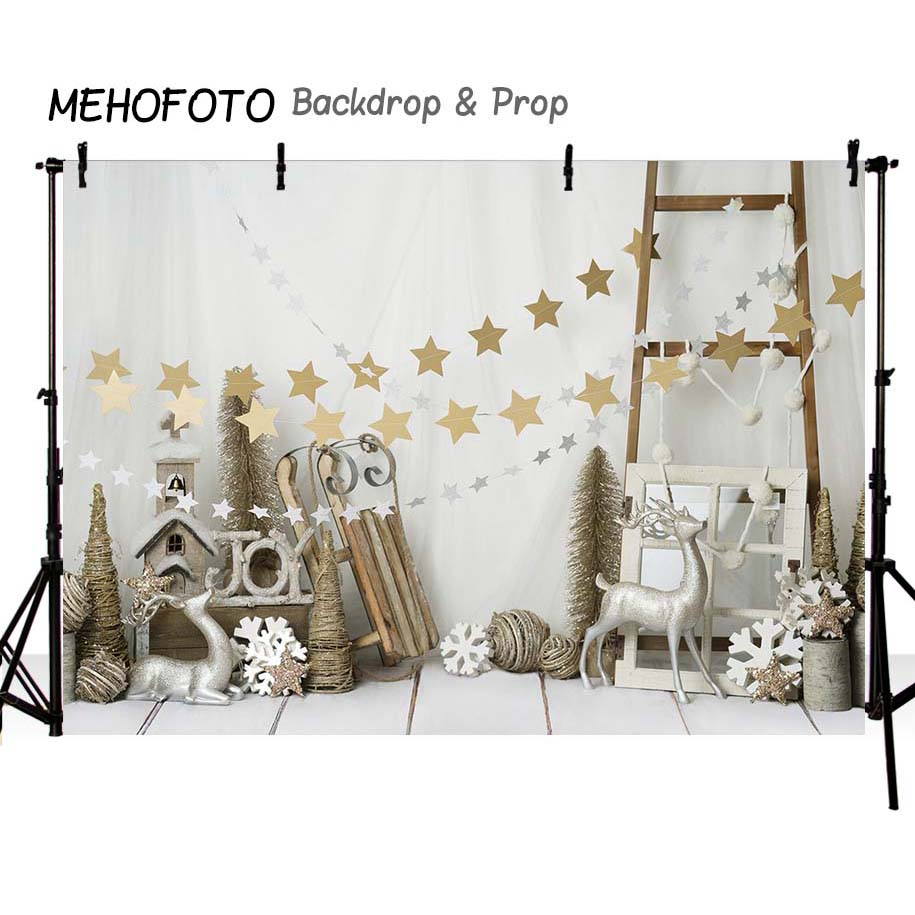 MEHOFOTO Christmas backdrops Photography Backdrop Birthday Party Custom Fotografia Seamless  Photo Backgrounds-in Background from Consumer Electronics