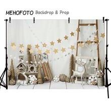 MEHOFOTO Рождественские фоны для фотосъемки день рождения на заказ Fotografia бесшовные Фото фоны