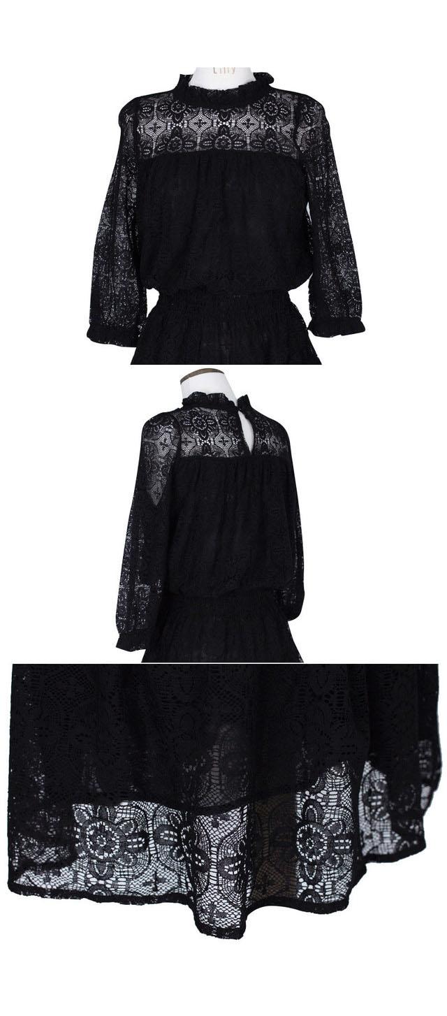 Elegant Black Milk White Summer Lace Mini Dress 2