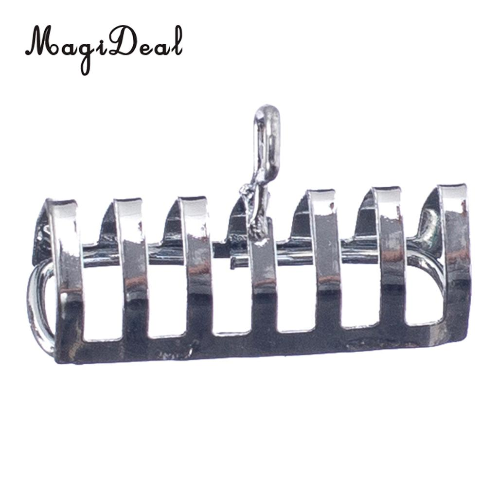 MagiDeal 1Pc Metal Toast Rack with Carrying Handle 1/12 Dolls House Miniature Kitchen Bread Acc for Children Pretend Play Game