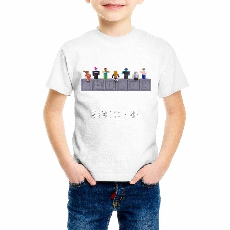 Sommer Spiderman kinder Kleidung Fünf Nächte Im Freddys FNaF mädchen t-shirt cartoon feuerwehrmann ROBLOX STARDUST jungen T-shirt Z2-3