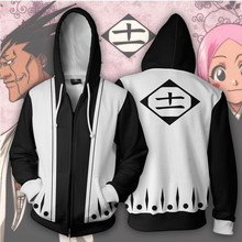 BLEACH Hoodies Kenpachi Zaraki Cosplay Sweatshirts Anime Costume Men Women