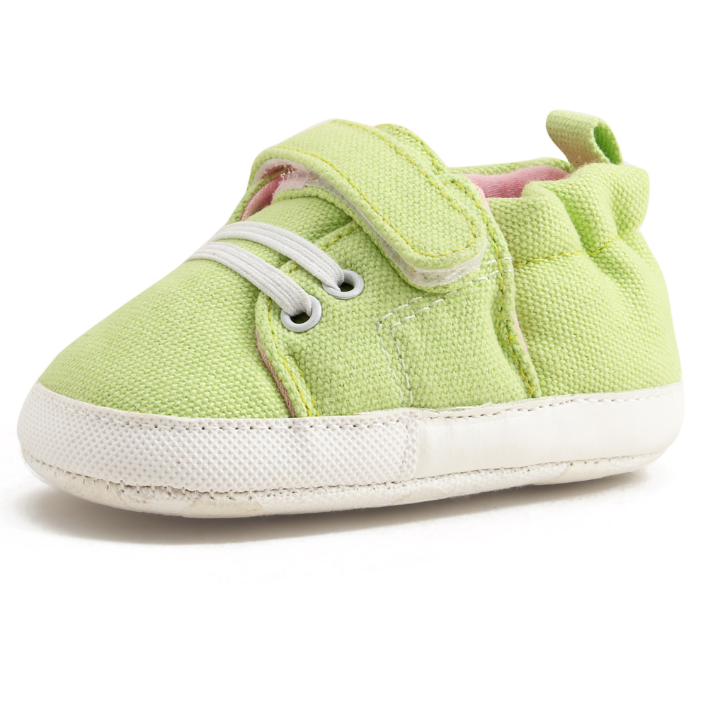 Delebao Pure Handmade Multi color Baby Shoes Canvas Soft Sole Baby Girls Shoes For 0 24 Months Prewalker Toddler Infant Shoes in First Walkers from Mother Kids