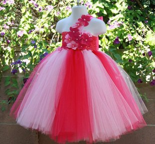 Flower Princess Beautiful Dresses For Kids Wedding Baby Pageant