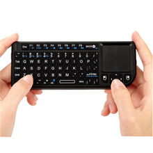 Newest 3 in 1 mini X1 Handheld 2.4G RF Wireless Keyboard Qwerty with Touchpad Mouse For PC Notebook Smart Google TV Box