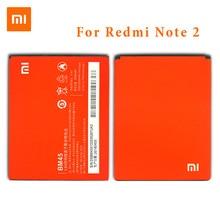 2018 Yeni XiaoMi Orijinal Cep Telefonu Pil Için Xiaomi Redmi Not 2 Hongmi Note2 BM45 Yedek Piller Kapasiteli 3020 mAh