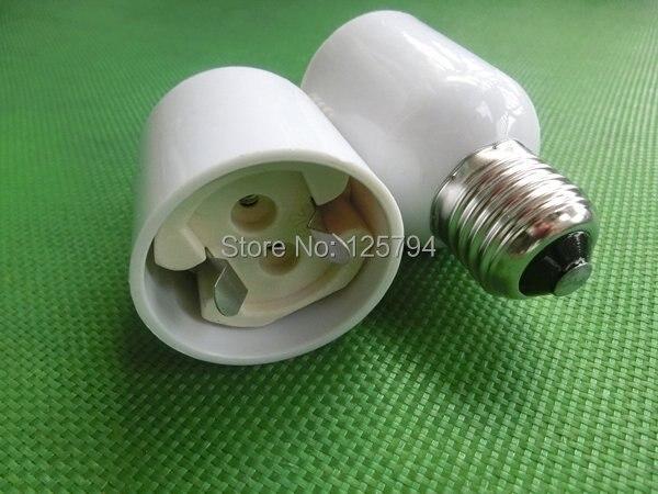 E27 to G12 Base LED Halogen Light Base G12 to E27 Lamp Bulbs Socket Adapter Converter