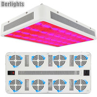 5PCS Full Spectrum 1600W LED Grow Light For Plant Flower Vegetable Growing Indoor Greenhouse Tent Hydroponics System Wholesale