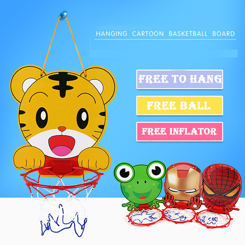 5 Styles Indoor Mini Plastic Basketball Board Toys Basketball Hoop For Kids Boys Favorite Gift Children Mesh Net Backboard Rim