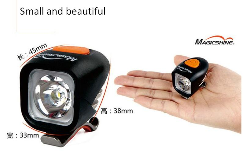 MagicShine MJ900 1200 Lumen Waterproof LED Bike Light Including Battery