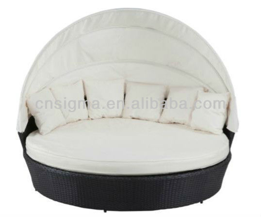 Modern Design Outdoor Bali Day Bed Poly Rattan Daybed Sunbed In Sun Loungers From Furniture On Aliexpress Alibaba Group