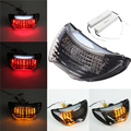 Smoke Integrated Motorcycle LED TailLight Brake Tail Light Turn Signals for Honda CBR 900 RR CBR 600 F4 F4i