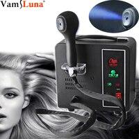 Hair Coloring Nano Spray Gun Portable Hairdressing Equipment Micro Mist Sprayer Hair Spa Humidifier Blue ray Nano Mist Spray
