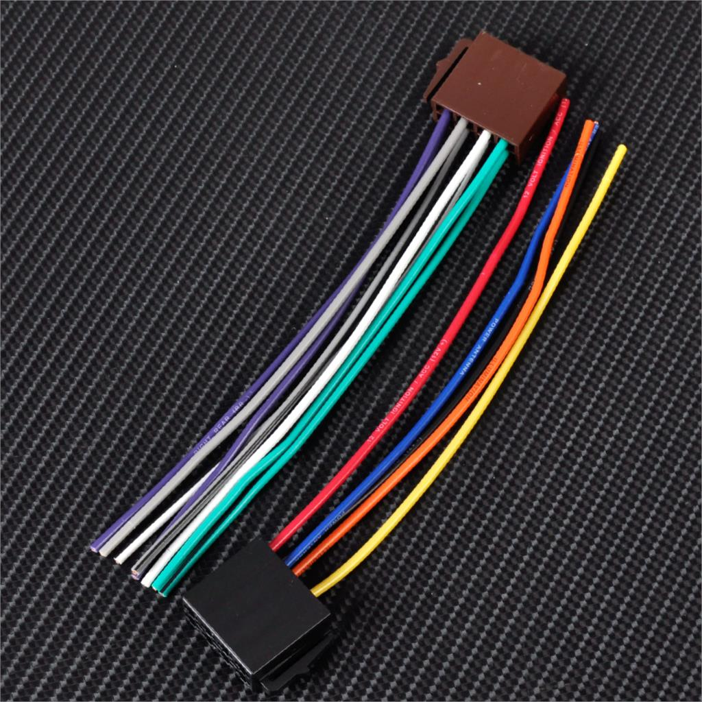online get cheap nissan wiring harness aliexpress com alibaba group universal iso radio wire harness female adapter connector cable for car stereo system for mercedes bmw audi vw toyota nissan kia