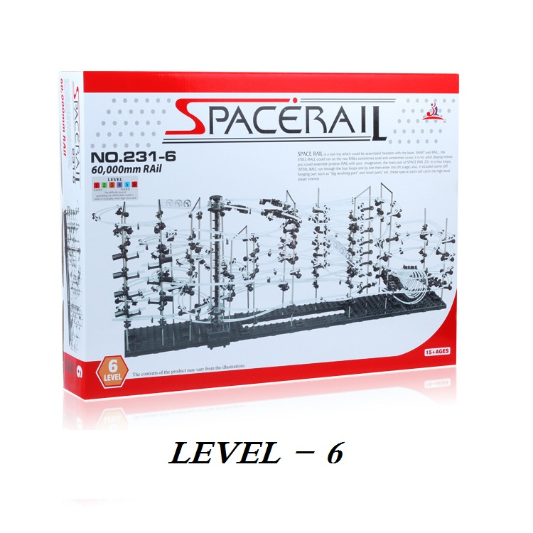 Level 6 (231-6) Space Rail, Roller Coaster kit High Class DIY toys Spacerail Intelligent toys Building blocks джинсы diesel diesel di303emrxt27