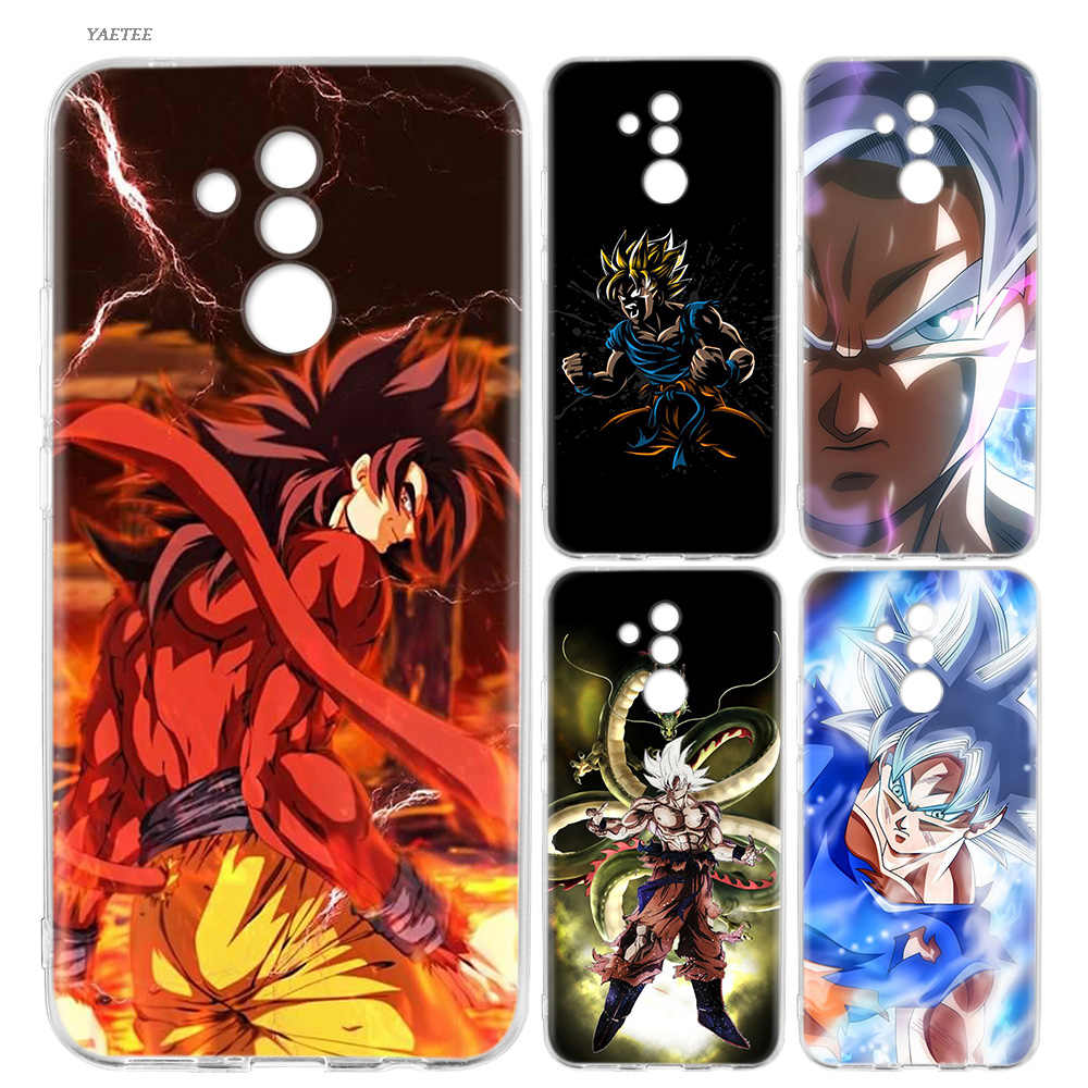 Dragon Ball DragonBall z goku Silicone Back Case For Huawei P20 P30 P10 Mate 20 10 Pro lite P Smart Plus + 2019 Nova 4 Cover
