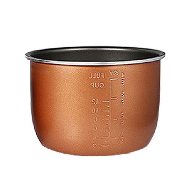 Pentola a pressione elettrica fodera multicooker ciotola 4L/5L/6L litro non stick pan doppio spruzzo ispessimento