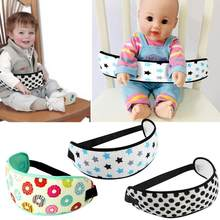 Baby Safety Sandwich Mesh Car Seats Belt Covers Shopping Cart Dining Chair Safety Belt Adjustable Toddler Highchair Strap(China)