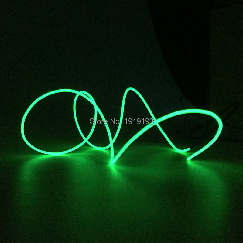 1M/2M/3M/4M/5M/10M Flexible LED Strip Light Neon Light Glow EL Wire Rope Tube Cable+Battery Driver Wire Dance Light Car Styling ...