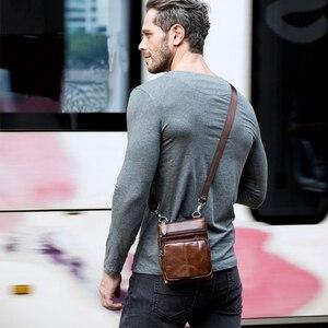 Image 4 - Westal épaule travail affaires messager bureau femmes hommes sac véritable mallette en cuir pour sac à main mâle femme petit Portable