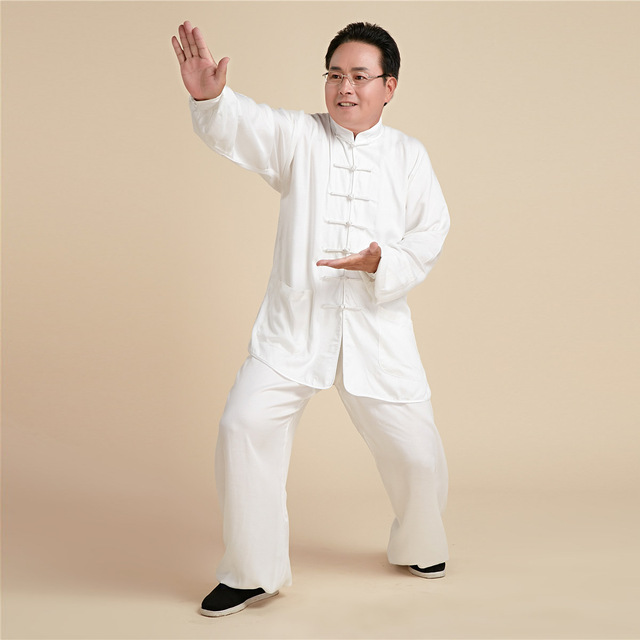 6d18f5a86f37e Taiji Roupas Kimono Judo Uniforme Roupas De Boxe Kung Fu Shaolin  Tradicional Chinesa Túnica Terno Gola