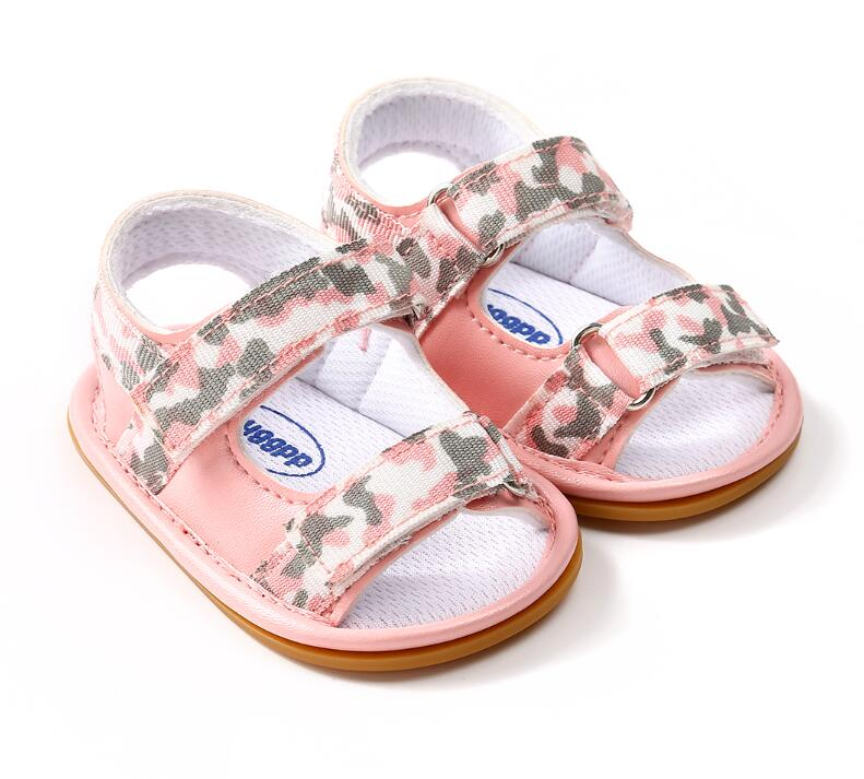 New Breathable Summer Baby Boys girls shoes 2018 hot sale Kids Camo Hollow Out Anti-skid Casual Baby Cack Shoes
