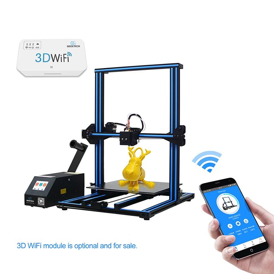 GEEETECH Open Source A30 bricolage imprimante 3D coloré écran tactile grande zone d'imprimante pause-reprise imprimante 3D