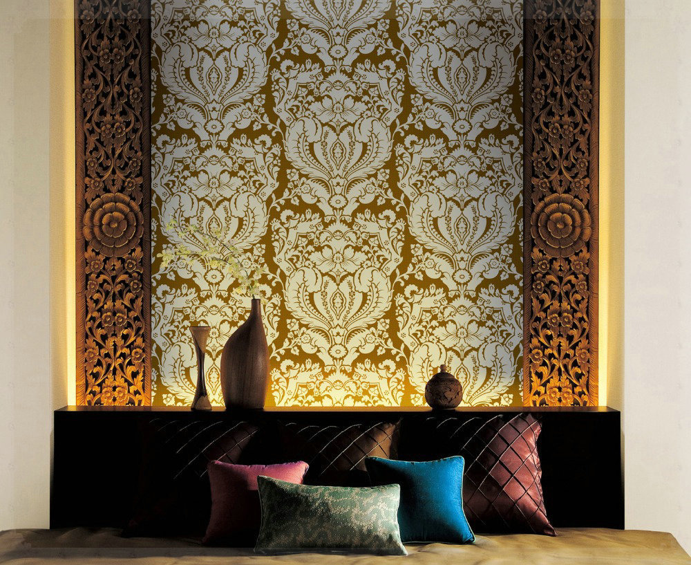 Aliexpress Com Buy Great Wealth Wallpaper Background Wall Paper European Style Non Woven Wallpapers Home Decor For Living Room Embossed Damask Grif From