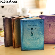 JINGU Vampire Diaries Notebook Paper Hot sale New Latest Gift Vintage Daily Memos Colorful Inner Pages