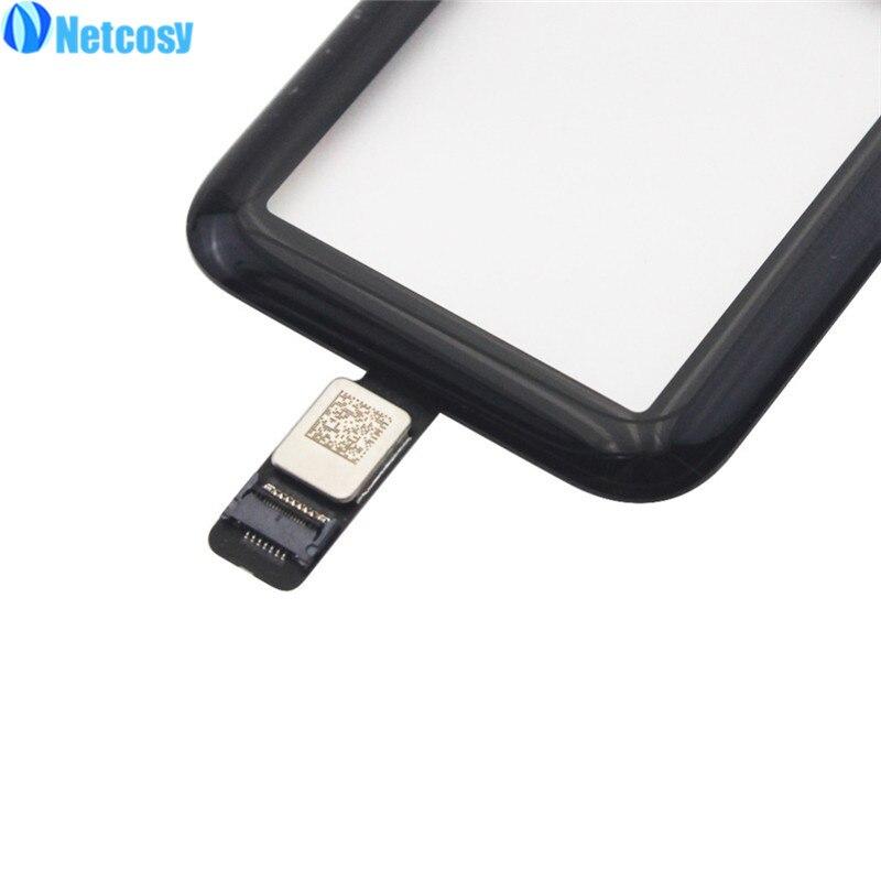 Netcosy 38mm 42mm écran tactile verre numériseur panneau de lentille Pour Apple Montre série 2 Série 3 38mm 42mm Écran Tactile repiar pièces - 4