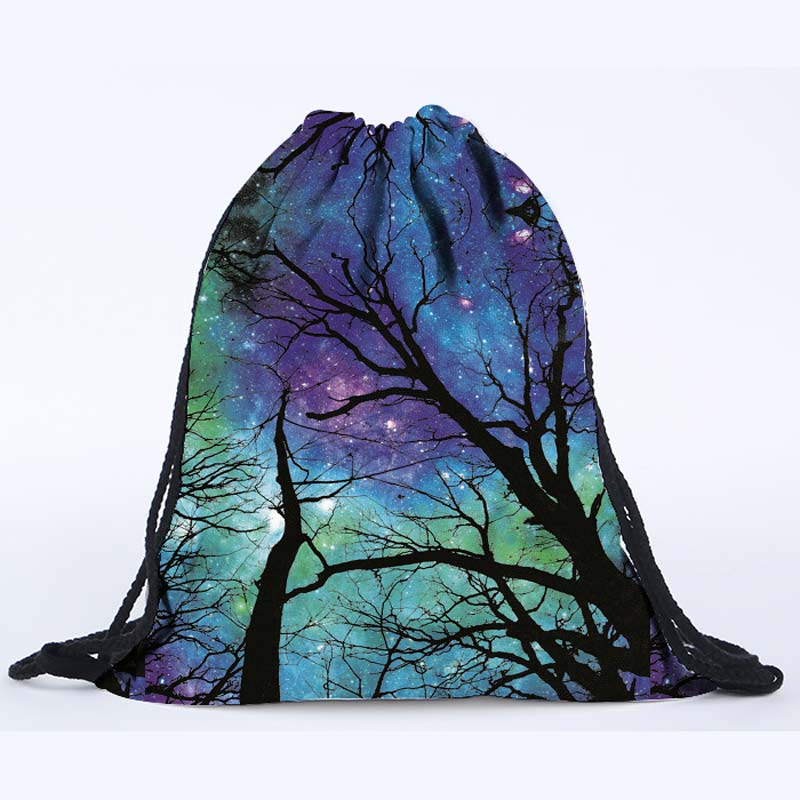 2016 latest design 3D digital printing galaxy pink drawstring backpack  beach bag on sale-in Backpacks from Luggage & Bags on Aliexpress.com |  Alibaba Group