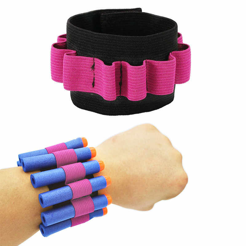 Toy Gun Wristband For Gun Toy softbullet Gun Can hold soft bullets professional player Outdoor game equipment Free shipping