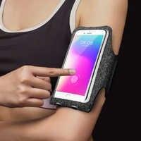 5,8 Zoll Wasserdichte Arm Tasche Universal-Mode Arm Band Sport Läuft Handy Im Freien Tasche
