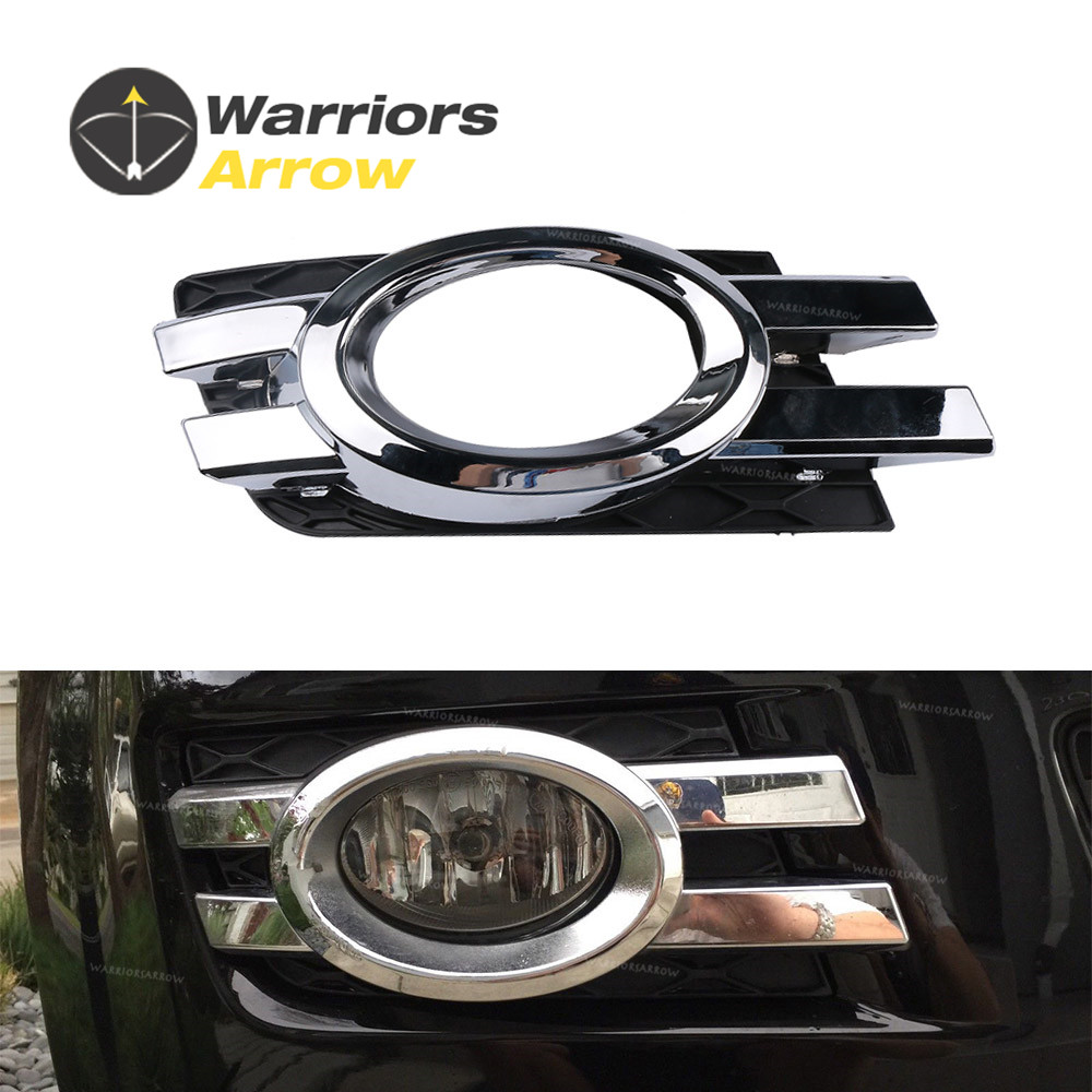 1648800824 For Mercedes-Benz MB X164 GL320 GL450 2007 2008 2009 Front Bumper Chrome Lower Fog Light Grille Grill Cover Cap Right(China)