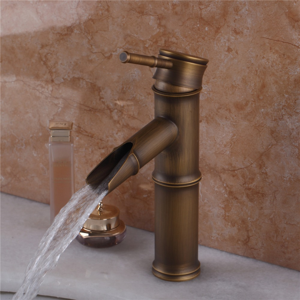 Bathroom Faucet Bathroom Basin Mixer Tap with Hot and Cold Water Taps