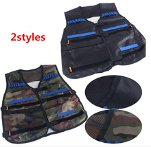 2colors Black and ArmyGreen Tactical Equipment of kit For Nerf N-strike Elite