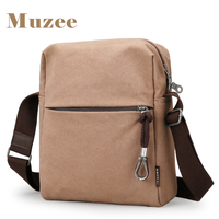 Muzee Summer New Crossbody Bag Men Male Shoulder Bags High Capacity For 8 Inches Pad Leisure