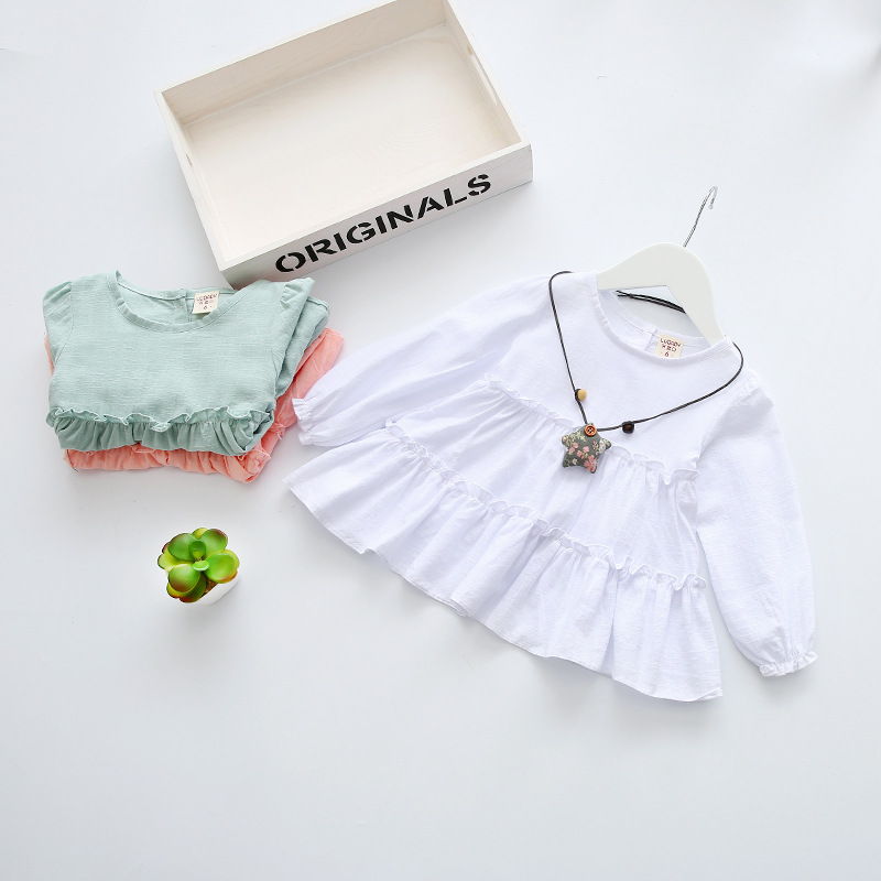 94e4a52d894c 100% Cotton Baby Girl Dress With Chain Summer Spring 2017 Casual ...