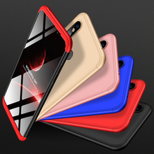 Cover Xiaomi 8SE Case 360-degree full package shell hard PC Shell Hard Back Phone for