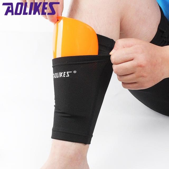 Soccer Protective Socks With Pocket For Football Shin Pads Leg Sleeves Shin Pad Holder Socks Sleeves Adult Support Sock new