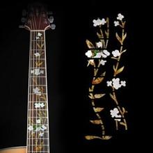 цены Guitar Bass Inlay Sticker Fretboard Marker Fret Decal Decor Guitar Accessories