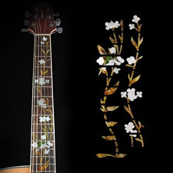 Guitar Bass Inlay Sticker Fretboard Marker Fret Decal Decor Guitar Accessories acoustic electric guitar bass inlay sticker fretboard marker fret decal guitar neck decal guitar decoration accessories