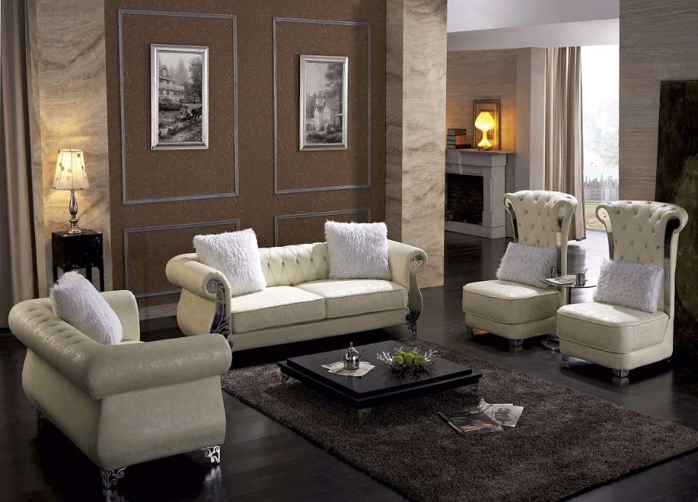 2016 Set No Rushed Modern Armchair Sectional Sofa Hot Sale Italian Style  Leather Corner Sofas For Living Room Furniture Sets