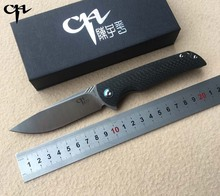 CH 3510 Folding knife VG10 blade ceramic ball bearing washer Carbon fiber handle outdoor camping hunting pocket knife EDC tools