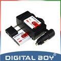 Digital boy ventas al por mayor (5 unids/set) 2 unids np bg1 np-bg1 batería de la cámara li-ion + cargador + cargador de coche para sony np-fg1 dsc-n1/n2/n20 z1