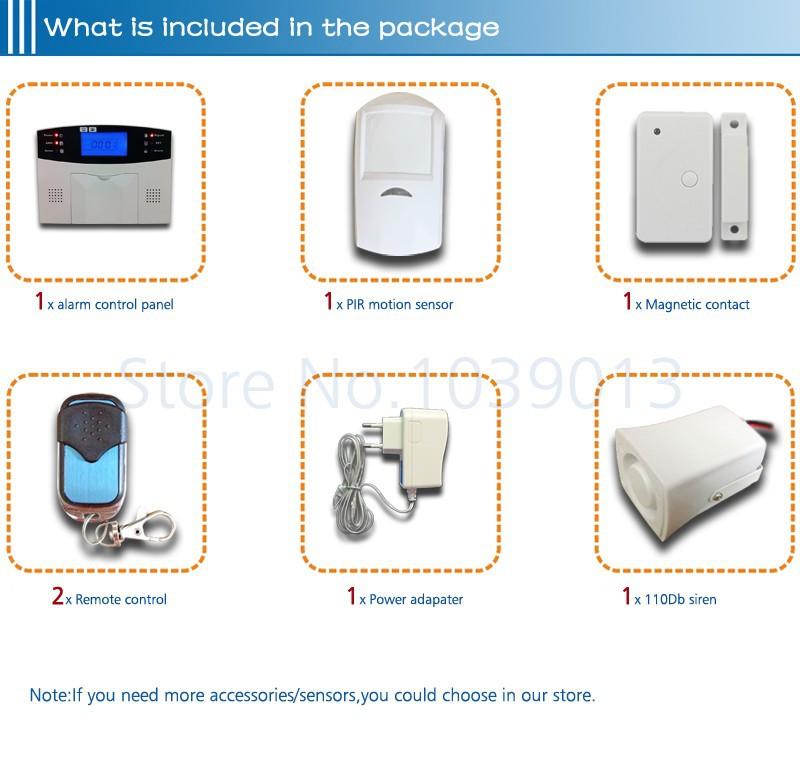 alarm system kit G500-3