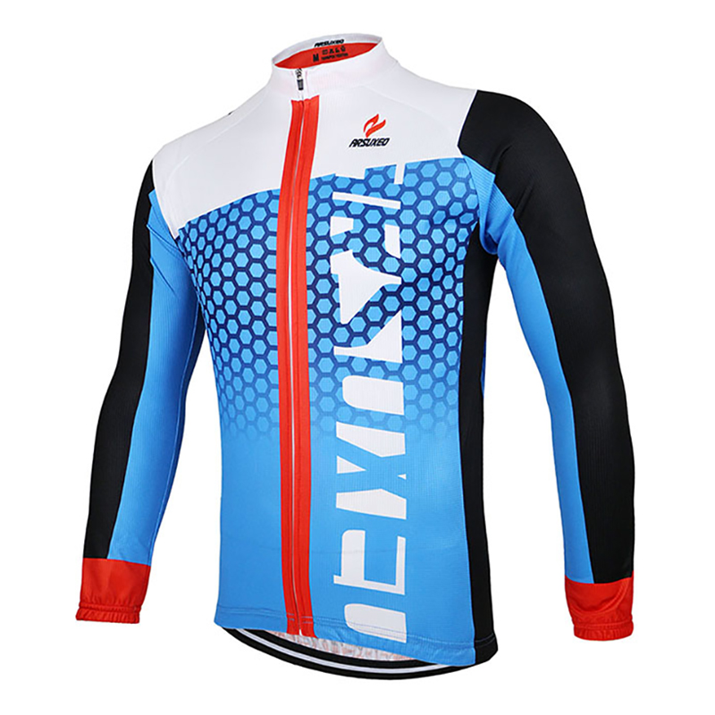 Men Spring Autumn Anti-sweat Cycling Jerseys MTB Bike Cycling Clothing Bicycle Jersey Super Light Ropa Ciclismo Invierno